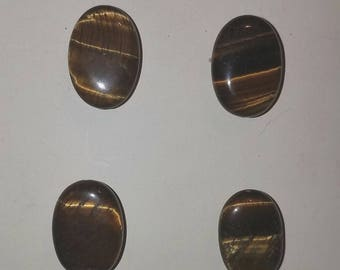 Horse Show back MAGNETIC NUMBER pins TIGEREYE custom made set of 4 Saddleseat HuntSeat Western