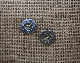 SHOTGUN SHELL Stud Earrings
