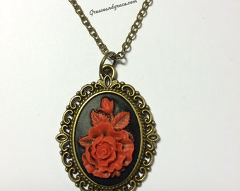 """Cameo """"Red Rose"""""""