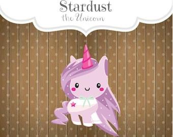 Stardust the Unicorn Cookie Cutter, Unicorn Cookie Cutter