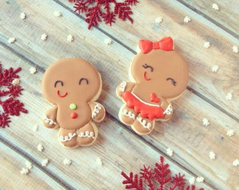 Chubby Gingerbread cookie cutters