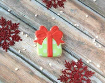 Double Bow Christmas Gift