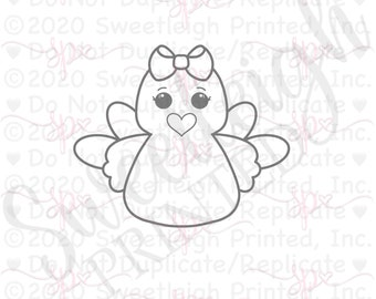 Girly Plush Turkey Cookie Cutter