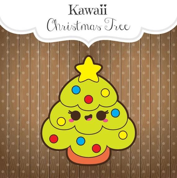 Kawaii Arbre De Noël Cookie Cutter Chubby Sapin De Noël Arbre De Noël Avec étoile