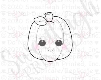 Pumpkin with Leaf Cookie Cutter