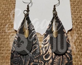 Leather Earrings | Annie Oakley