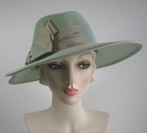 e9acbaf3107 Women s Hats Menswear Wool Fedora Felt Fedora Wide Brim
