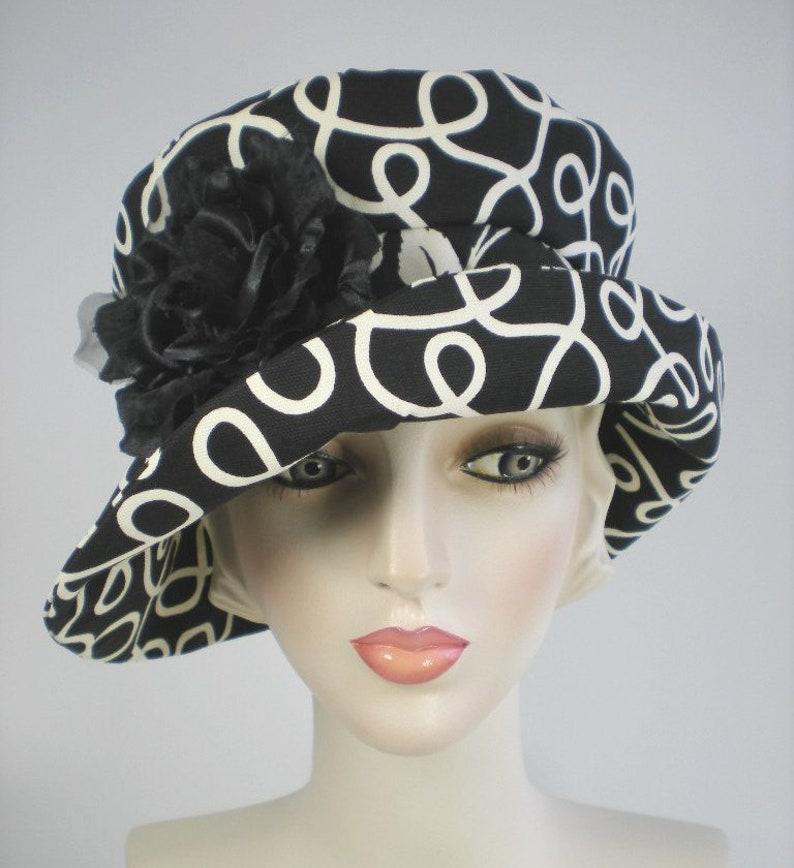 8fed6d94c3d03b Downton Abbey 1920s Cloche Hats Women's Summer Bucket | Etsy
