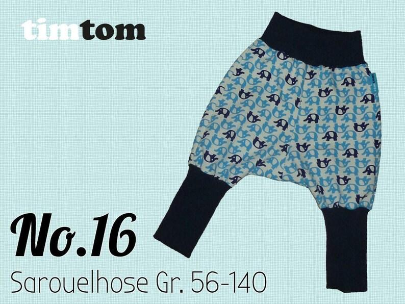 Ebook timtom No.16 Sarouelhose  Gr. 56-140  Download  Ebook image 0