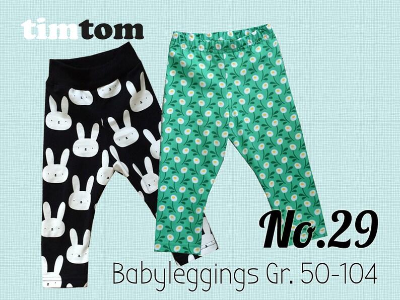 Ebook timtom No.29  Babyleggings  Gr. 50-104  Download  image 0