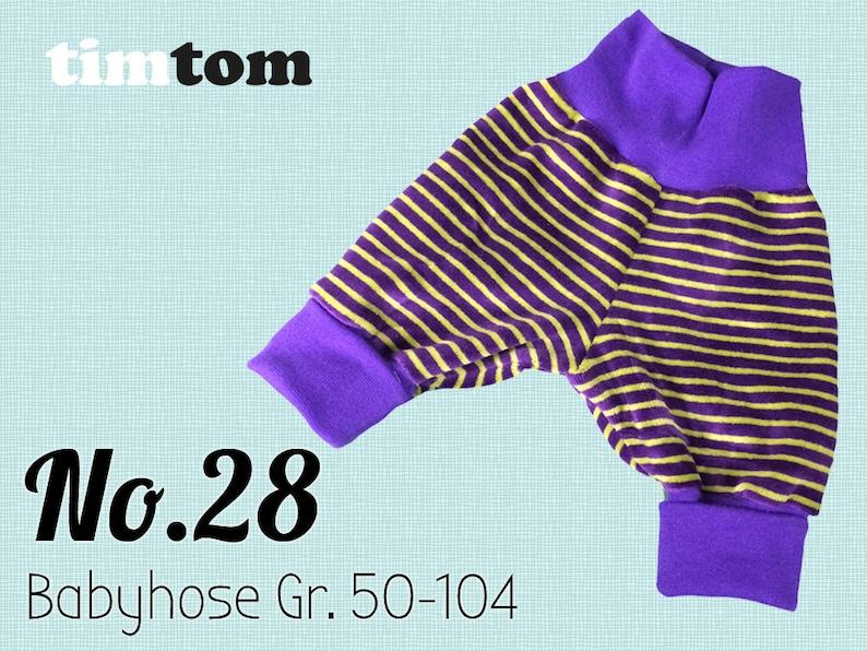 Ebook timtom No.28  Babyhose Gr. 50  104  Download  Ebook image 0