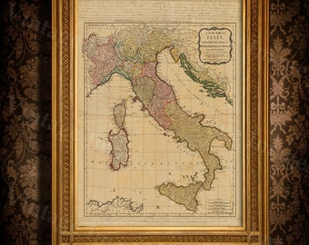 Map of italy | Etsy Old World Map Of Italy on ancient maps of italy, cumae italy, online map venice italy, old map of florence italy, old maps prints, old style map of italy, old material, early people of italy, old naples italy, old world maps murals, old world cartography, old world style fabric, detailed map florence italy, towns in bari italy, old world rome, historical maps of italy, printable map italy, 13th century italy, old world italian, tunisia italy,