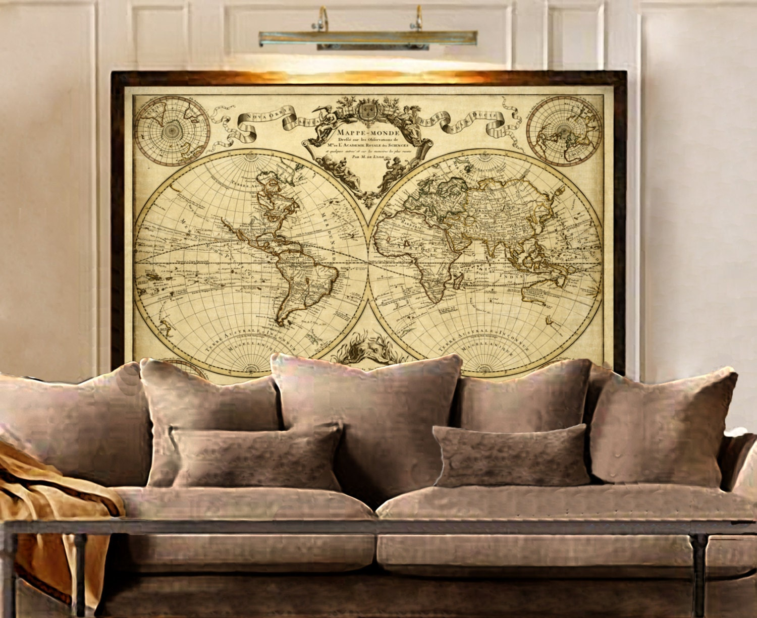 Magnificent Antique Wall Art Decor Collection - Wall Art Collections ...