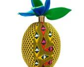 SCENERY LABEL Print Cushion Pineapple