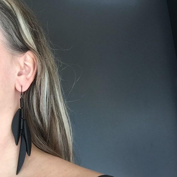 SCENERY LABEL Drop Earrings Bamboo