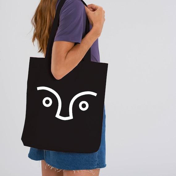 SCENERY LABEL Unisex Bag Logo Black