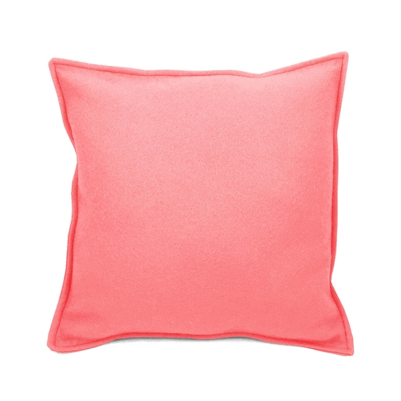 SCENERY LABEL Felt Cushion Candy-floss