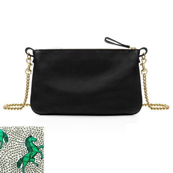 SCENERY LABEL Handbag Horses