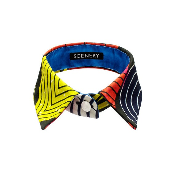 SCENERY LABEL Collar Shapes