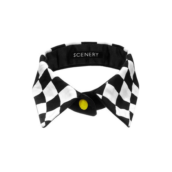 SCENERY LABEL Patchwork Collar