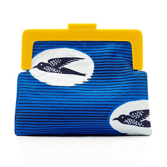 SCENERY LABEL Clutch Bag Birds