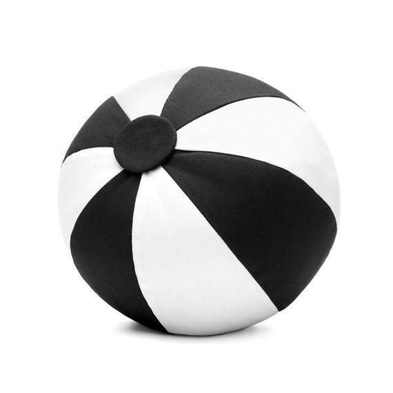 SCENERY LABEL Ball Cushion Monochrome