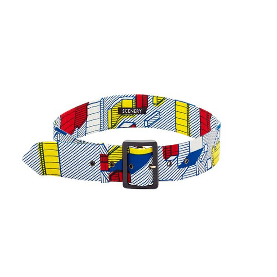 SCENERY LABEL Belt Blocks