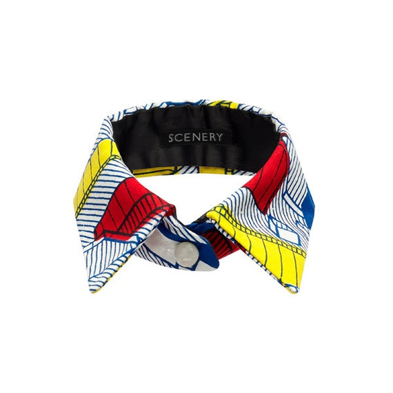 SCENERY LABEL Collar Blocks