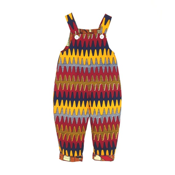 SCENERY LABEL Dungarees Zigzags