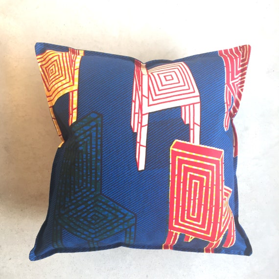 SCENERY LABEL Dutch Wax Cushion Chairs
