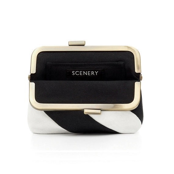 SCENERY LABEL Purse Stripes