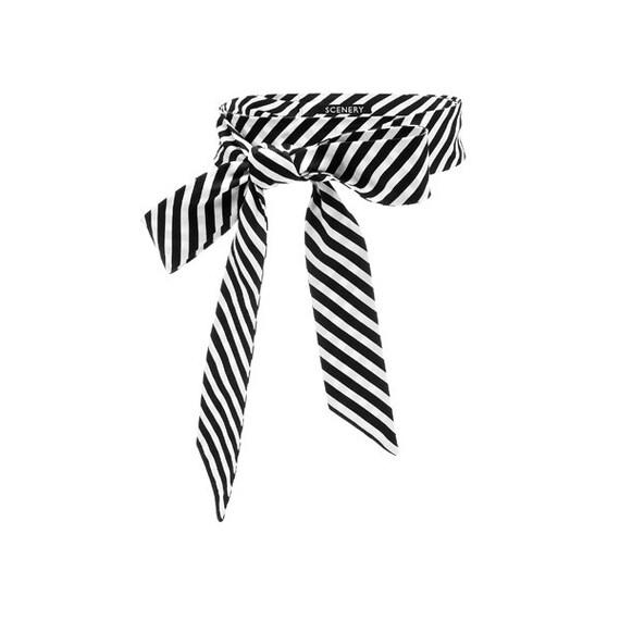 SCENERY LABEL Bow Belt Stripes