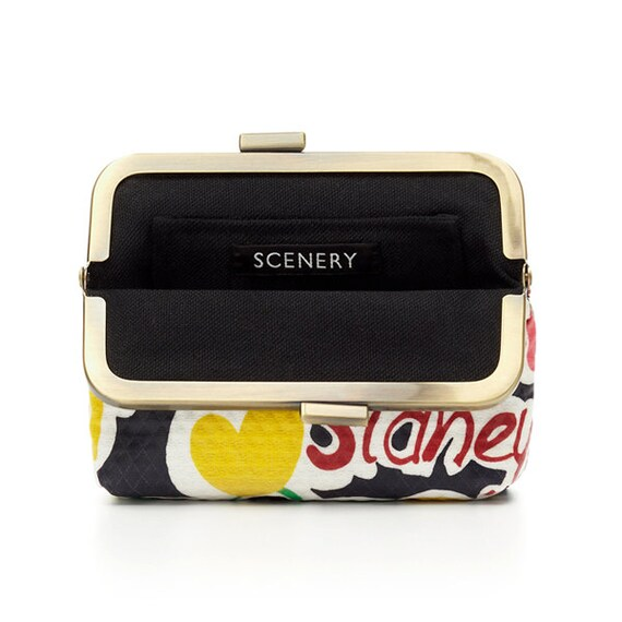 SCENERY LABEL Purse Graffiti