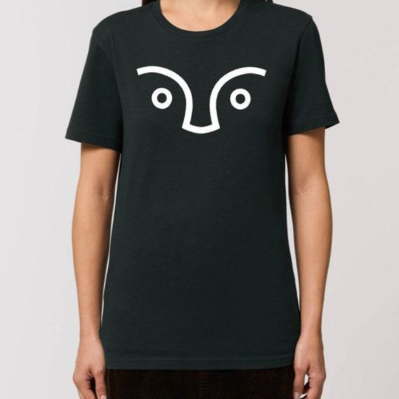 SCENERY LABEL Unisex T-Shirt Logo Black