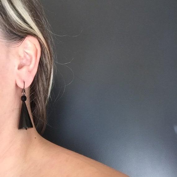 SCENERY LABEL Drop Earrings Cone