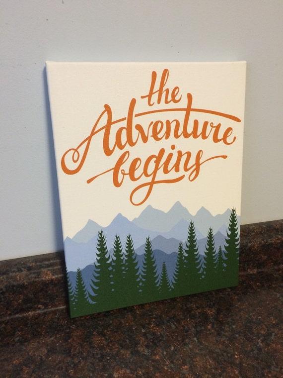 Adventure Nursery Mountain Nursery Nursery Adventure Wall
