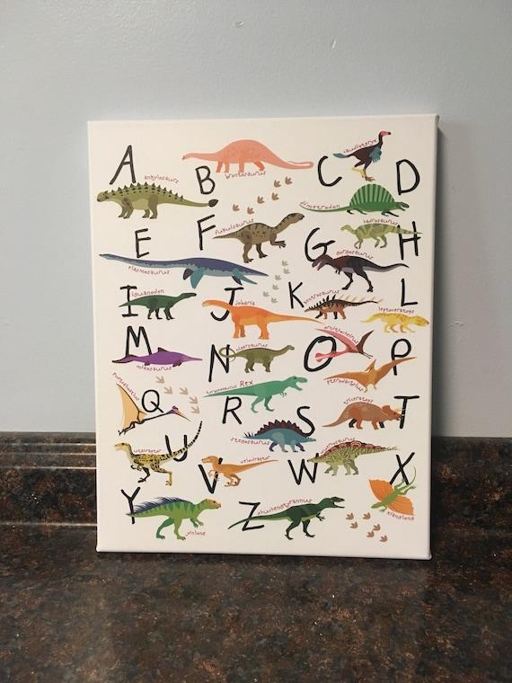 Dinosaurier Kinderzimmer Dinosaurier Dekor Dinosaurier Wand Etsy