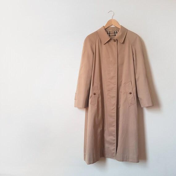 1970s Burberry Prorsum Trench Coat, Beige Burberry