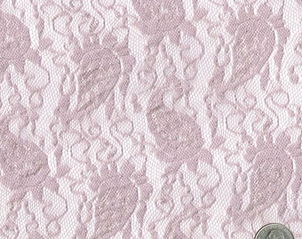 French Paisley Green Mint Light Lace Fabric By The Yard