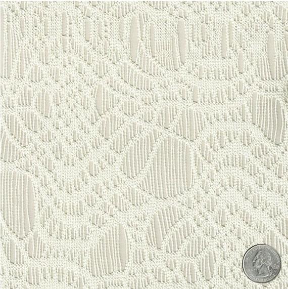 Elfenbein Spinnweben Muster Spitzen häkeln Stoff durch den | Etsy