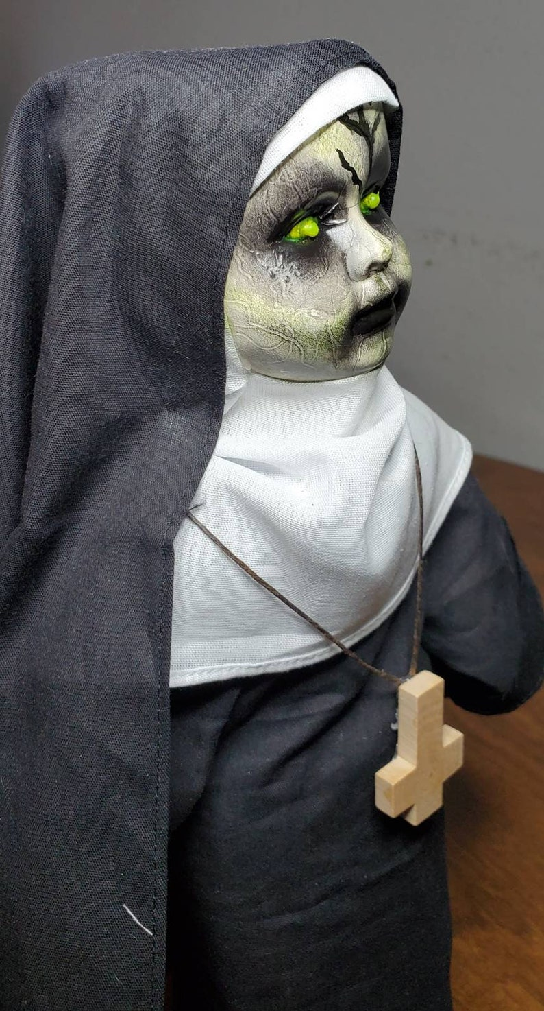 Evil Nun Horror Doll