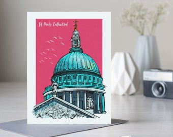 St Pauls Cathedral, London Card