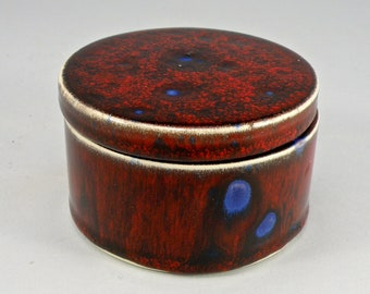 jewellery box ,Trinket box , ceramic box