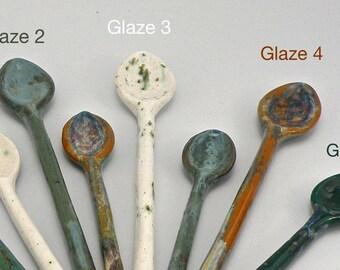 Large Ceramic spoon  Hand made Stoneware Spoon Dishwasher safe