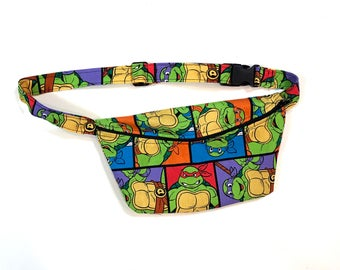 Ninja Turtles Print Fanny Pack