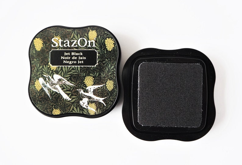 StazOn Stamp Pillow Jet Black image 0
