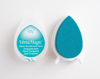 Versamagic Stamp Pillow Turquoise Gem