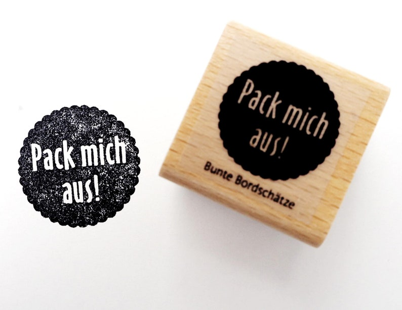 Stamp Pack Me Out Label Stamps 3 x 3 cm image 0