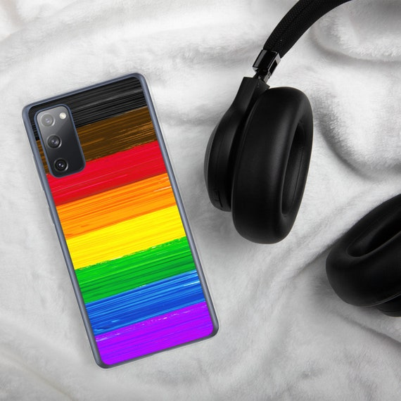 Inclusive Philly LGBTQ Pride Flag Paint Strokes Samsung Case