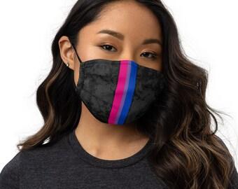 Bisexual Pride Flag Stripe Adjustable Face Mask